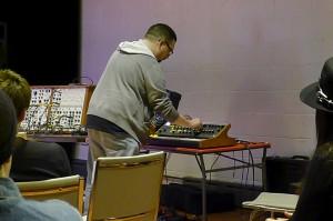 Steve Castellano performs